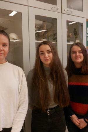 Michele Snårbacka, Hanna Frilund, Julia Brännbacka
