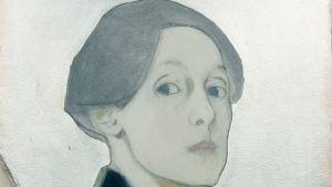 Helene schjerfbeck omakuva