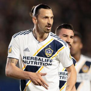 Zlatan Ibrahimovic, LA Galaxy.