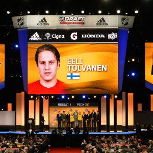 Eeli Tolvanen draftas av Nashville.