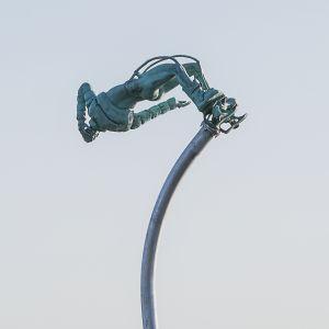 Skulpturen Free Fall.