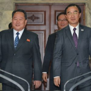 Nord- och Sydkorea avslöjade tidpunkten för toppmötet efter förhandlingar i stilleståndsbyn Panmunjom
