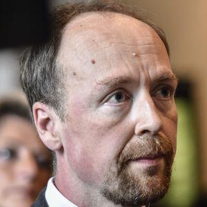 Jussi Halla-aho, ordförande för Sannfinländarna.