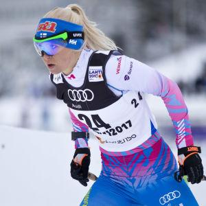 Mari Laukkanen, skid-VM 2017.