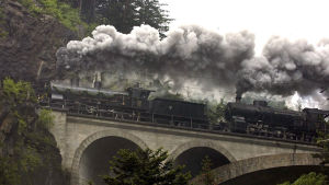 125th anniversary of the Gotthard railroad in Switzerland
