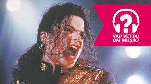 Michael Jackson och Musiktestets logo