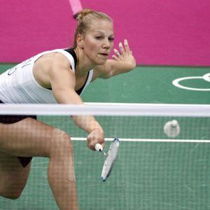 Anu Nieminen här i OS i London 2012.