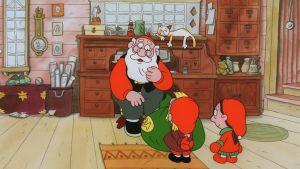 Kuvakaappaus Joulupukki ja noitarumpu -elokuvasta