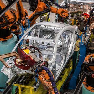 Mercedes-Benz bilfabrik i Ungern