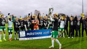 IFK Mariehamn firar guld.