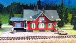 Tågstationen i Hittehatt