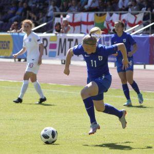 Jenni Kantanen, Finland-England.