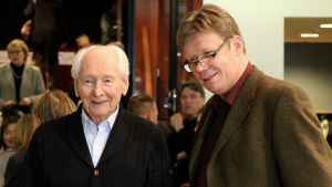Tero Latvala (oikealla) on ollut Tuomas Haapasen (vasemmalla) oppilas.