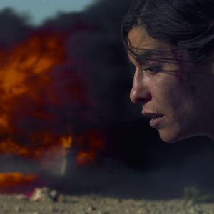 Lubna Azabal elokuvassa Nawalin salaisuus (Incendies), 2010