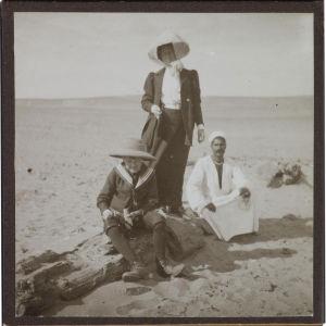 Jorma ja Mary Gallen-Kallela Egyptissä 1910.