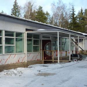 Björkdagens daghem sanerades vintern 2013.