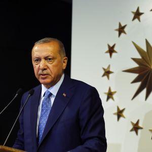 Turkiet president Recep Tayyip Erdoğan får ännu större maktbefogenheter efter presidentvalet