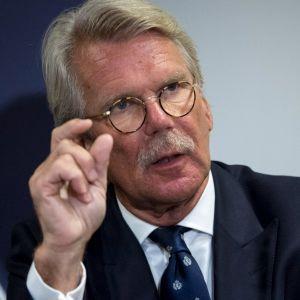 Personporträtt på Björn Wahlroos.
