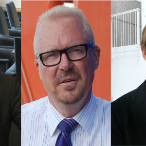 Christian Sjöstrand, Ragnar Lundqvist, Otto Ilmonen