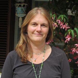 Bäddavdelningsskötare Cathrinne Wetterstrand i Sjundeå