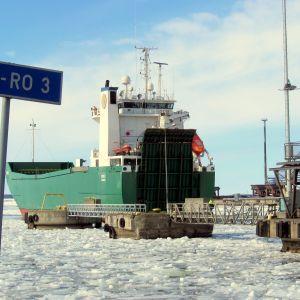 Fraktfartyget M/S Mimer