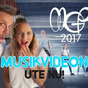 MGP musikvideo: dansare och programledare