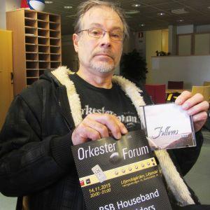 Tom Behm är en av de aktiva bakom Orkesterforum i Liljendalgården