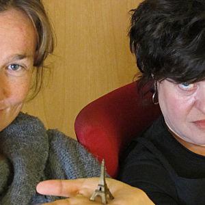 Rabulisterna Mikaela Strömberg-Schalin och Sabine Forsblom