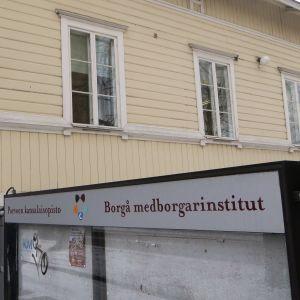 Medborgarinstituten i Borgå vid Mannerheimgatan 15