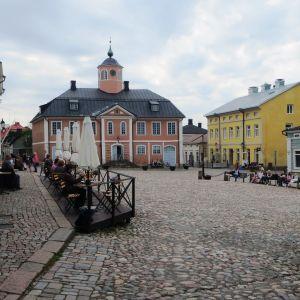 Gamla rådhustorget i Borgå