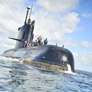 Ubåten San Juan.