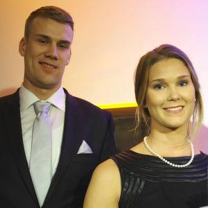 Carl Lindbom och Catharina Kock.