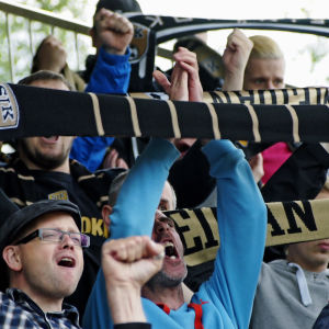 SJK-supporters vid match mot VPS 22062015