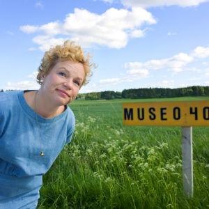 Minna Joenniemi on museoseikkailija