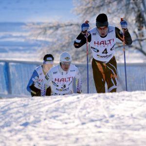 Lari Lehtonen, finska cup på skidor, januari 2016.