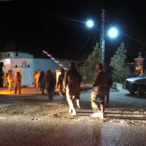 Terrorattack mot polisskola i Pakistan.