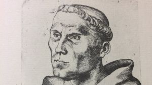 Lucas Cranach den äldre: Luther som munk