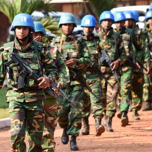 FN:s fredsbevarare i Minusca-operationen har anklagats för sexuella övergrepp vilket har upprört befolkningen i Centralafrikanska republiken
