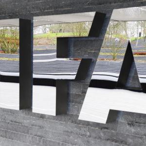 Fifa, det internationella fotbollsförbundet.