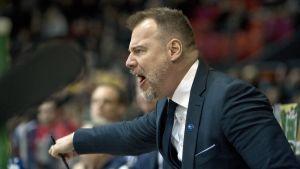 Rikard Grönborg gormar.