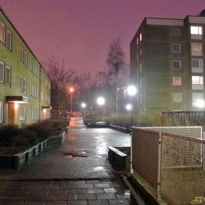 En gata i Rosengård.