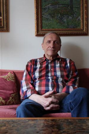 Kaj Westerlund jobbade som mentalvårdare på Lappviken.