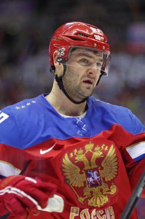 Aleksandr Radulov bekant syn i rysk landslagsdress.