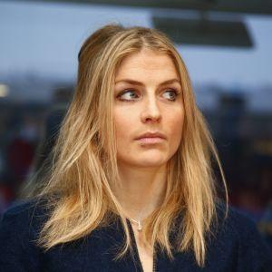 Therese Johaug på plats på veckans rättegång i Oslo.