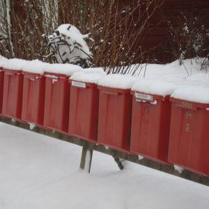 Postlådor i Fiskars