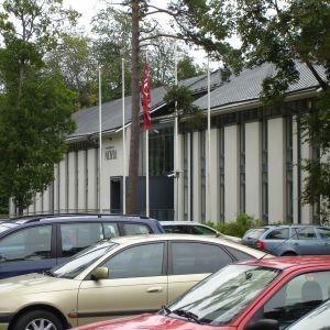 Yrkeshögskolan Novias campus i Ekenäs.