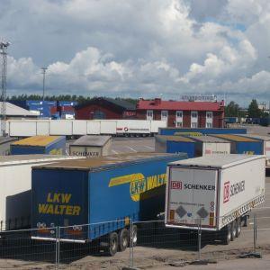 Hangö Stevedoring i Hangö hamn