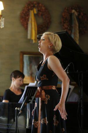 Sopraano Kaisa Ranta ja pianisti Tiina Karakorpi Meidän festivaalilla