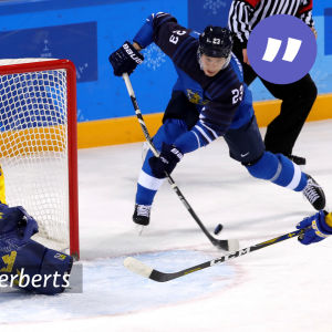 Finland mot Sverige i OS