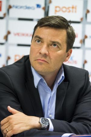 Marco Casagrande, generalsekreterare på Bollförbundet.